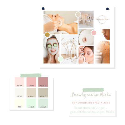 Beautycenter Mieke Branding - Moodboard