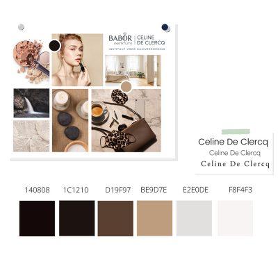 Babor Celine Branding - Moodboard